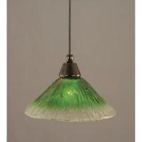 Toltec Lighting 1 Light Cord Mini Pendant & Reviews | Wayfair