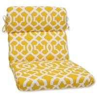 Pillow Perfect New Geo Outdoor Chaise Lounge Cushion | Wayfair