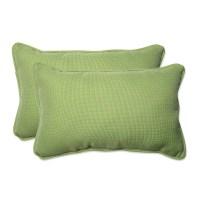 Pillow Perfect Tweed Indoor/Outdoor Lumbar Pillow ...