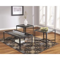 Flash Furniture Calder 3 Piece Coffee Table Set & Reviews ...