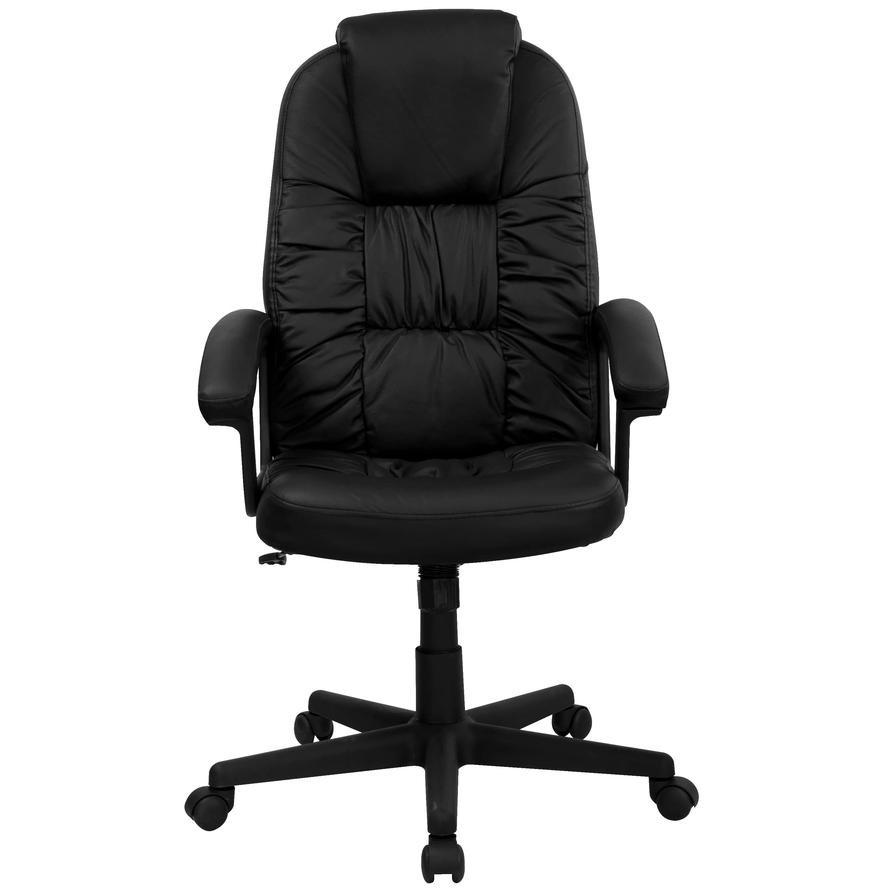 Flash Furniture High Back Leather Swivel Executive Chair