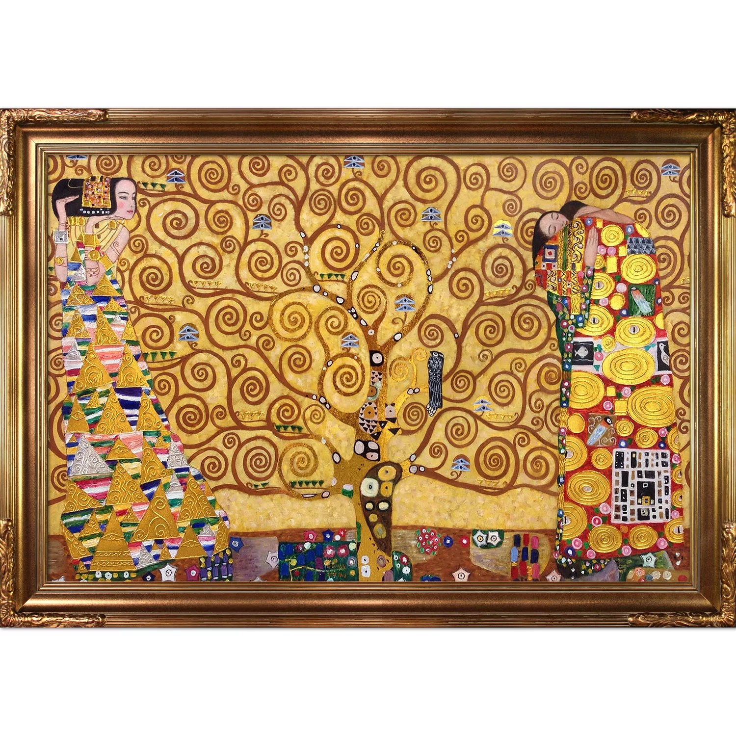 Klimt Fregio Stoclet Tori Home The Tree Of Life Stoclet Frieze Luxury Line