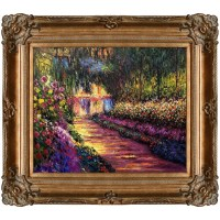 Tori Home Pathway in Monet's Garden at Giverny by Claude ...