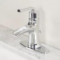 Premier Faucet Sanibel Single Handle Bathroom Faucet ...