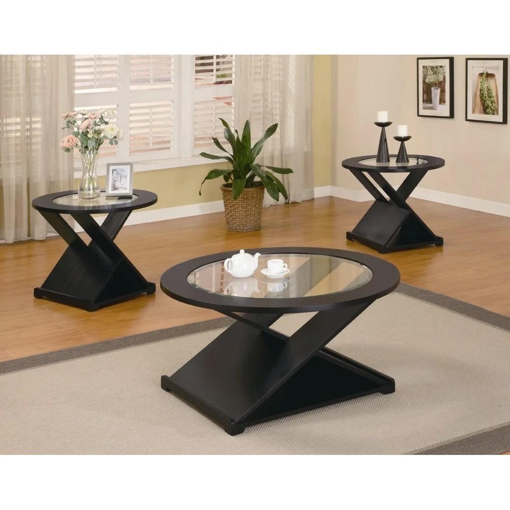 Wildon Home R Amalga 3 Piece Coffee Table Set Reviews