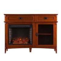 Wildon Home  Hicks Console Electric Fireplace & Reviews ...