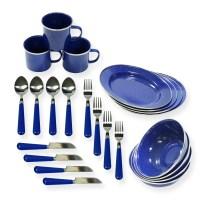 Stansport 24 Piece Camping Tableware Set & Reviews | Wayfair