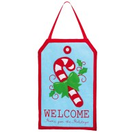 Evergreen Enterprises, Inc Candy Cane Felt Door Decoration ...