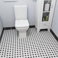 "EliteTile Retro 11.5"" x 11.5"" Porcelain Mosaic Tile in ..."