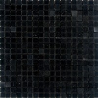 "Epoch 0.63"" x 0.63"" Granite Mosaic Tile in Absolute Black ..."