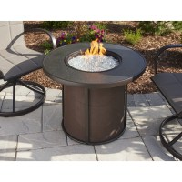 The Outdoor GreatRoom Company Stonefire Gas Fire Pit Table ...