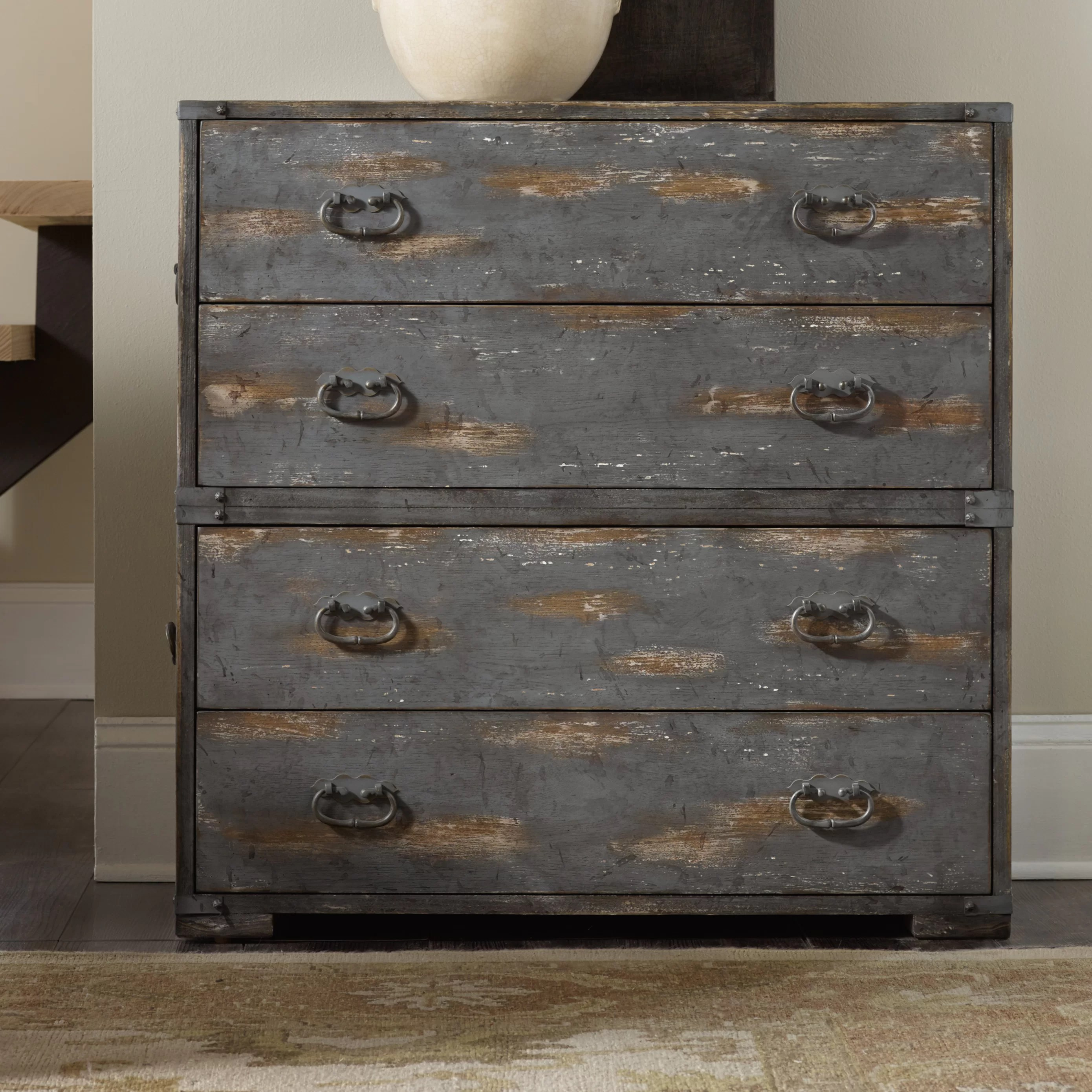 Furniture Chest Hooker Furniture 4 Drawer Accent Chest Wayfair Ca