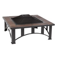 Fire Sense Tuscan Tile Fire Pit Table & Reviews | Wayfair