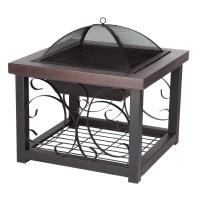 Fire Sense Cocktail Table Fire Pit & Reviews | Wayfair