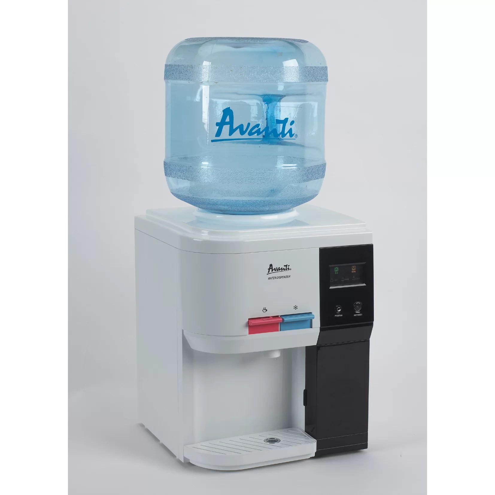 Countertop Drinking Fountain Avanti Countertop Hot And Cold Water Cooler And Reviews
