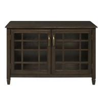 Simpli Home Connaught 2 Door Low Storage Cabinet & Reviews ...