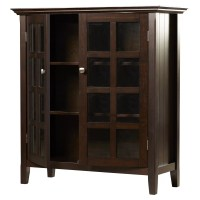 Simpli Home Acadian Accent Storage Cabinet | Wayfair