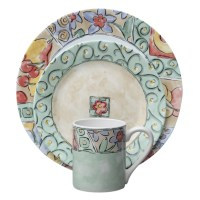 Corelle Impressions Watercolors 16 Piece Dinnerware Set ...