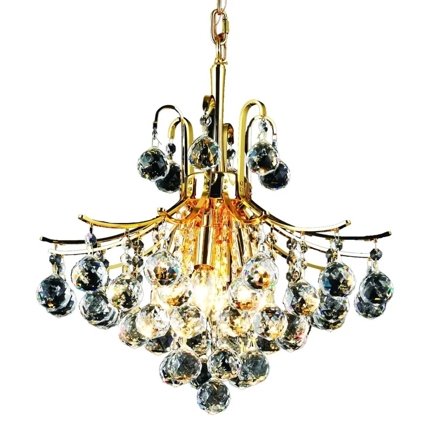 Elegant Lighting Toureg 6 Light Chandelier & Reviews
