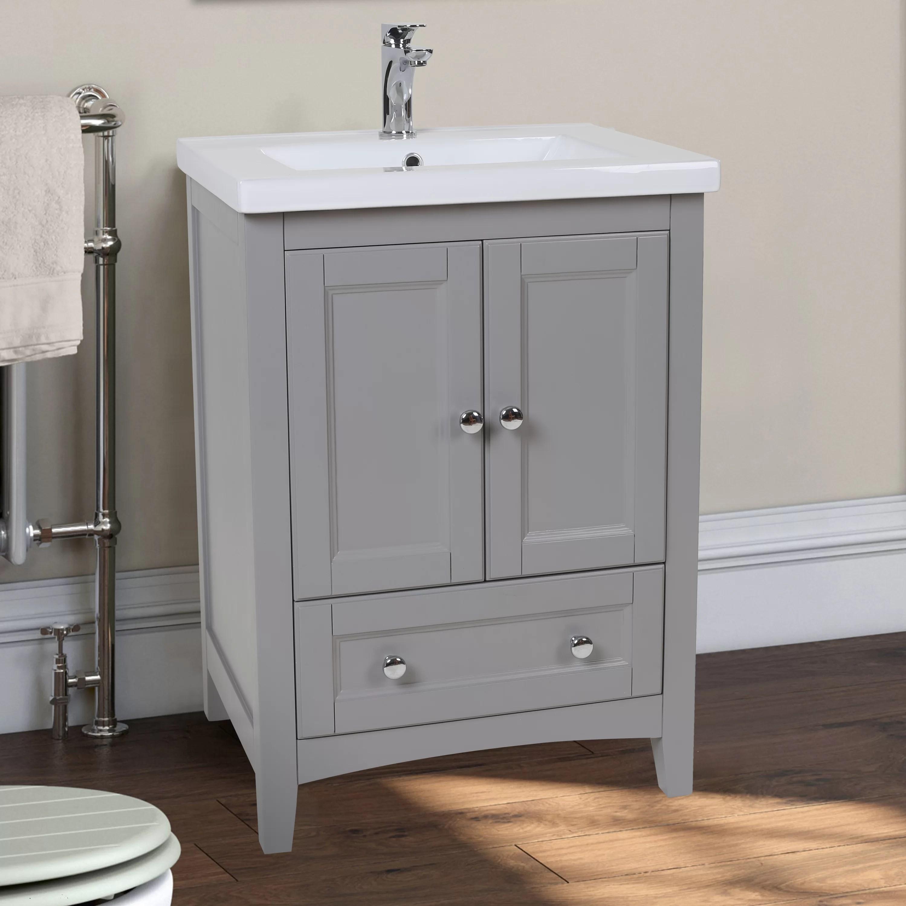 Elegant Lighting Danville 24quot Single Bathroom Vanity Set