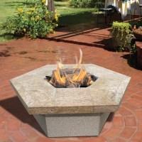 CalFlame Hexagon Gas Fire Pit & Reviews | Wayfair