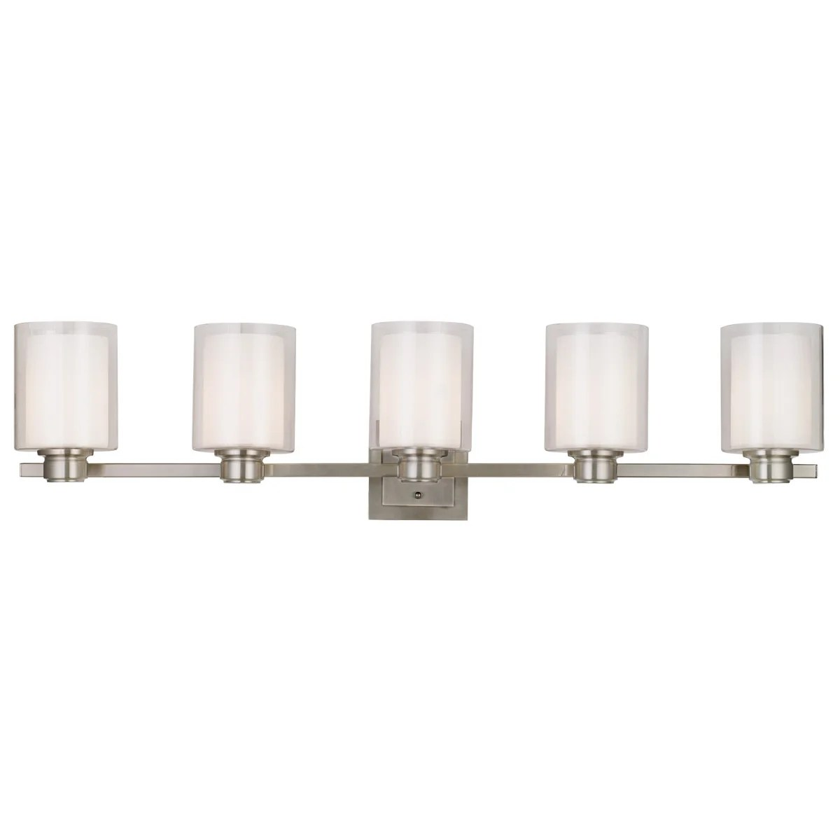 Design House Vanity Design House Oslo 5 Light Bath Vanity Light And Reviews