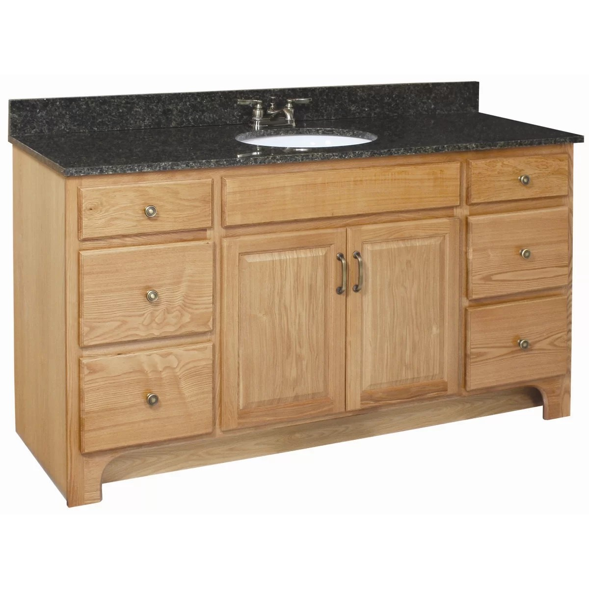 Design House Vanity Design House Richland 60 Quot Double Door 4 Drawers Cabinet