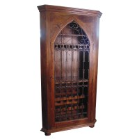 MOTI Furniture 30 Bottle Floor Wine Cabinet | Wayfair.ca