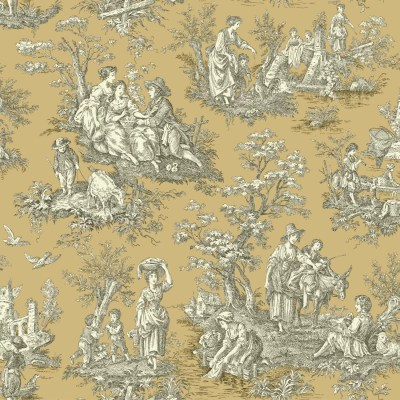 York Wallcoverings Waverly Country Life 33' x 20.5