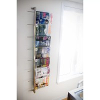 Gus Modern 2 Piece Wall Mounted Magazine Rack & Reviews ...
