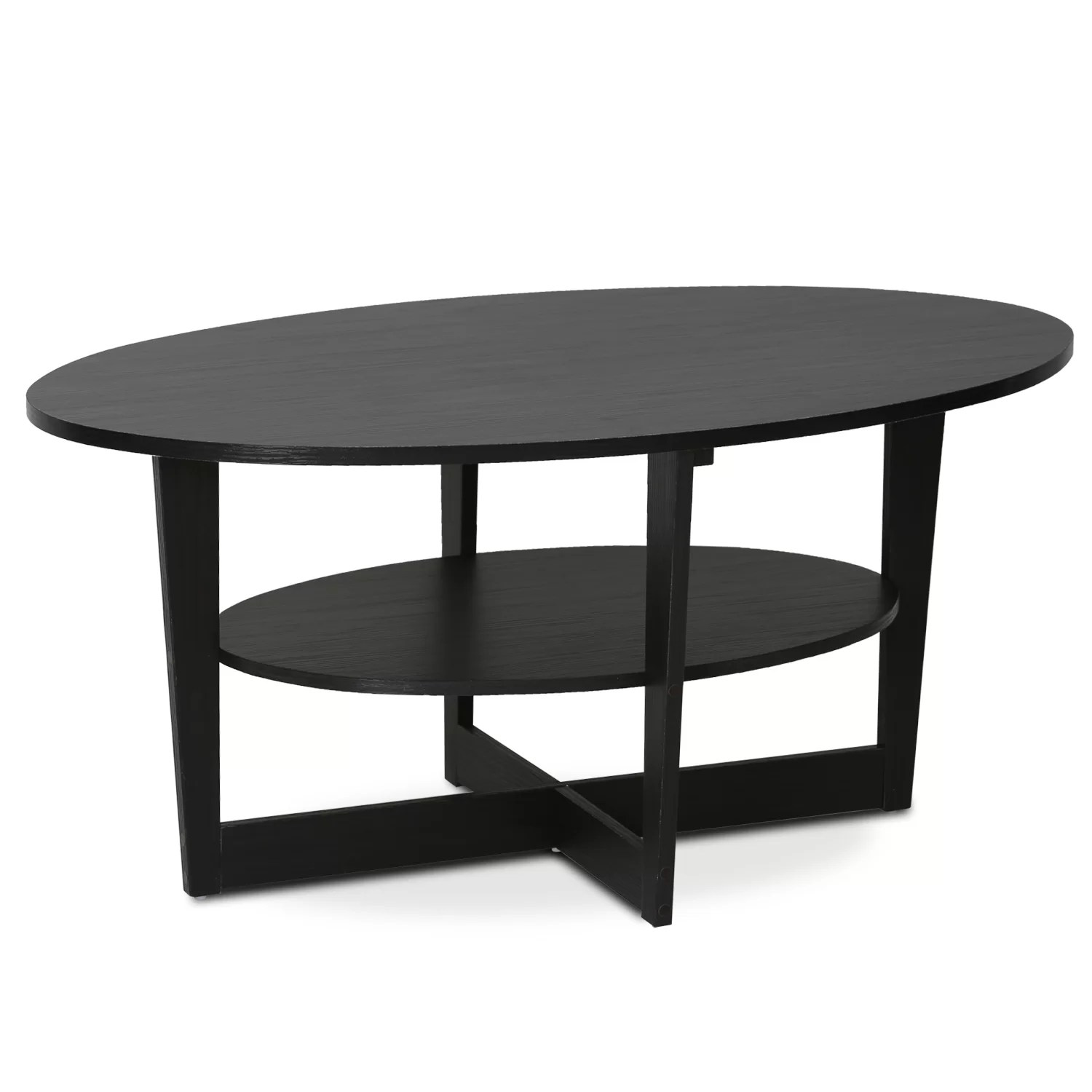 Ikea Couchtisch Vejmon Oval Furinno Jaya Coffee Table And Reviews Wayfair