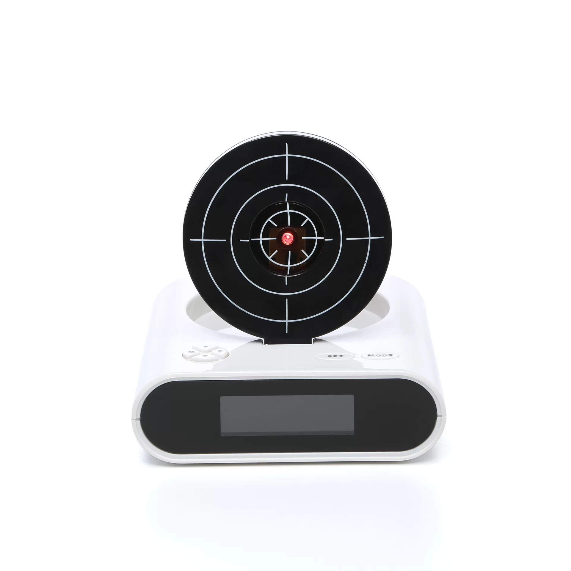 Alarm Clocks Target Trademark Global Gun And Target Recordable Alarm Clock Set