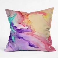 DENY Designs Rosie Brown My World Throw Pillow & Reviews ...