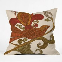 DENY Designs Valentina Ramos the Bird Throw Pillow ...