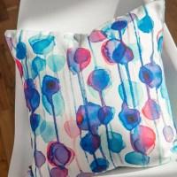 DENY Designs CMYKaren Throw Pillow & Reviews | Wayfair