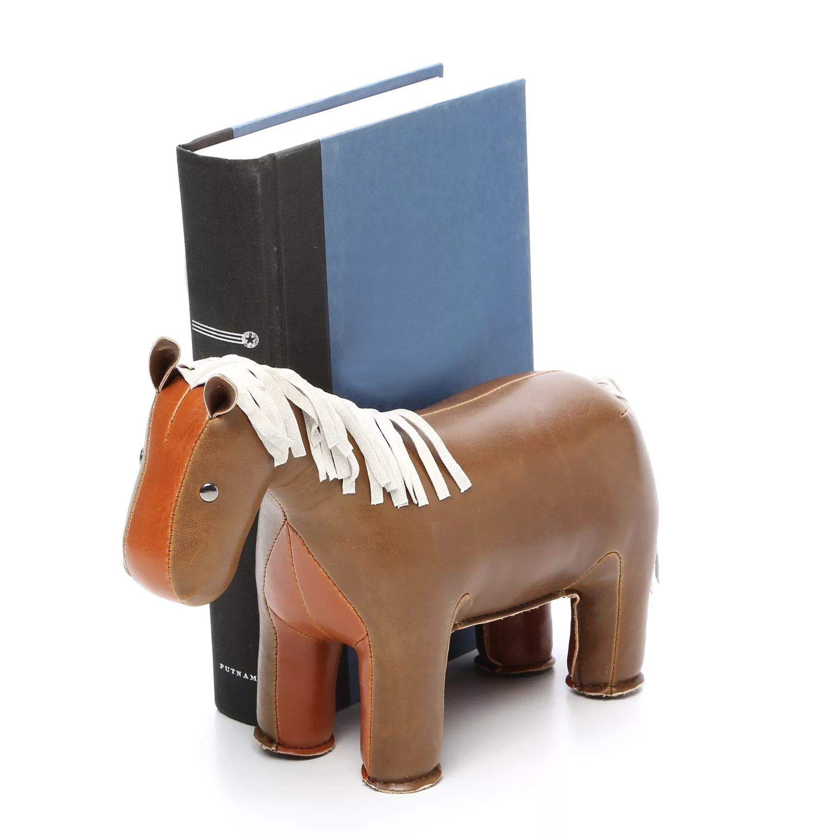 Classic Bookends Zuny Classic Horse Bookend And Reviews Wayfair