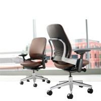 Steelcase Leap High-Back Leather Desk Chair | Wayfair