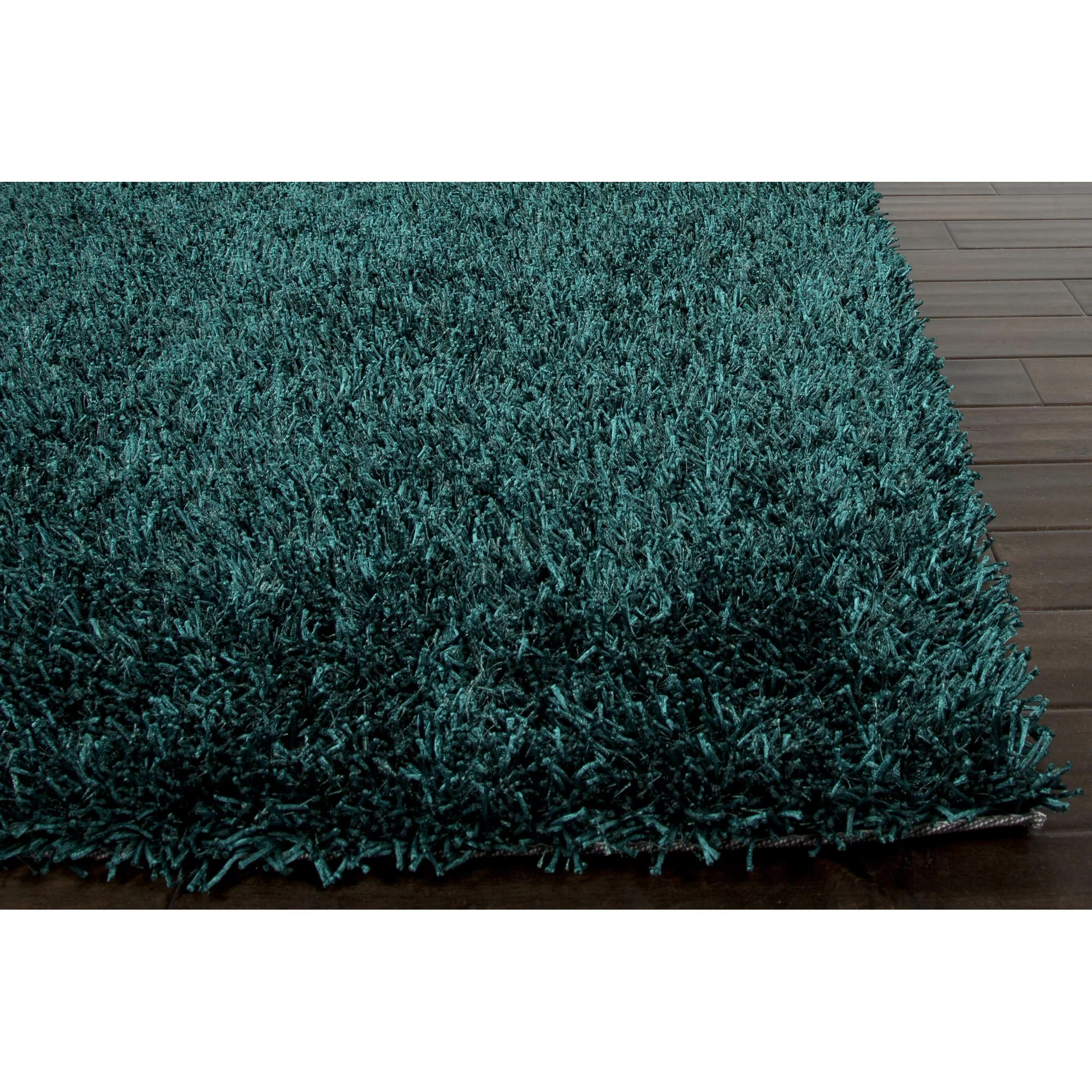 Blue Shag Rug Jaipurliving Flux Teal Blue Shag Area Rug And Reviews Wayfair