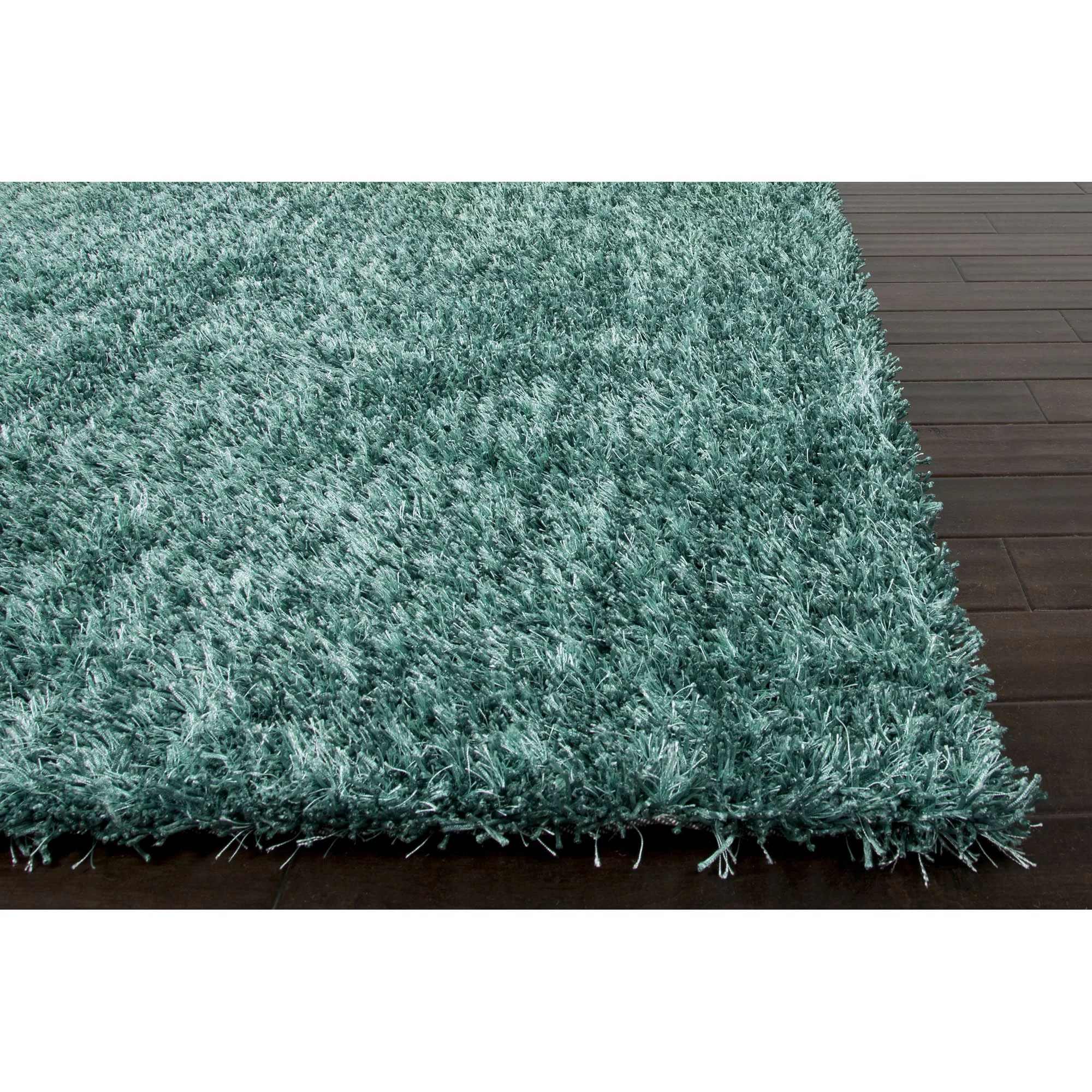 Blue Shag Rug Jaipurliving Flux Smoke Blue Shag Area Rug And Reviews Wayfair