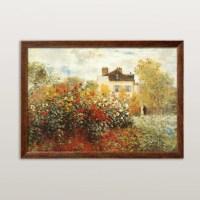 Art.com 'The Artist's Garden in Argenteuil' by Claude ...