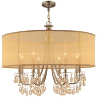 Crystorama Hampton 8 Light Chandelier & Reviews | Wayfair