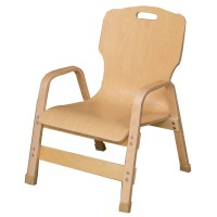 Wood Designs Healthy Kids Wood Classroom Chair & Reviews ...