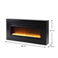 Homestar Mantova Freestanding Electric Fireplace & Reviews ...
