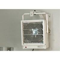 NewAir 5,000 Watts Fan Forced Wall/Ceiling Electric Garage ...