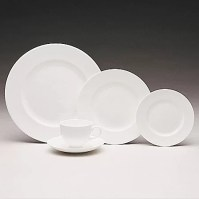 Wedgwood Wedgwood White 5 Piece Place Setting & Reviews ...