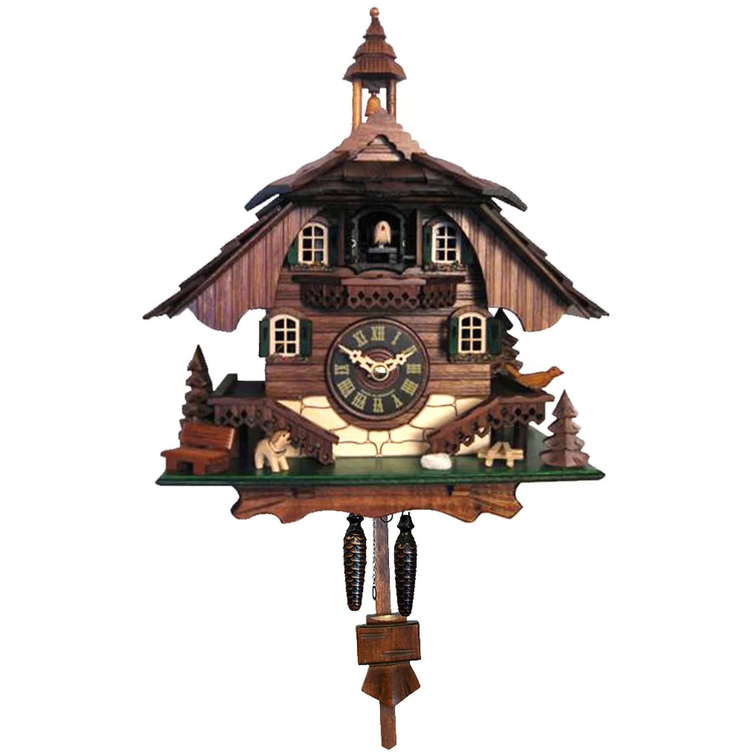 Wall Cuckoo Clocks Alexander Taron Engstler Battery Operated Cuckoo Wall