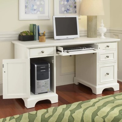 Home Styles Naples Computer Desk with Keyboard Tray ...