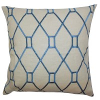 The Pillow Collection Nevaeh Geometric Throw Pillow ...