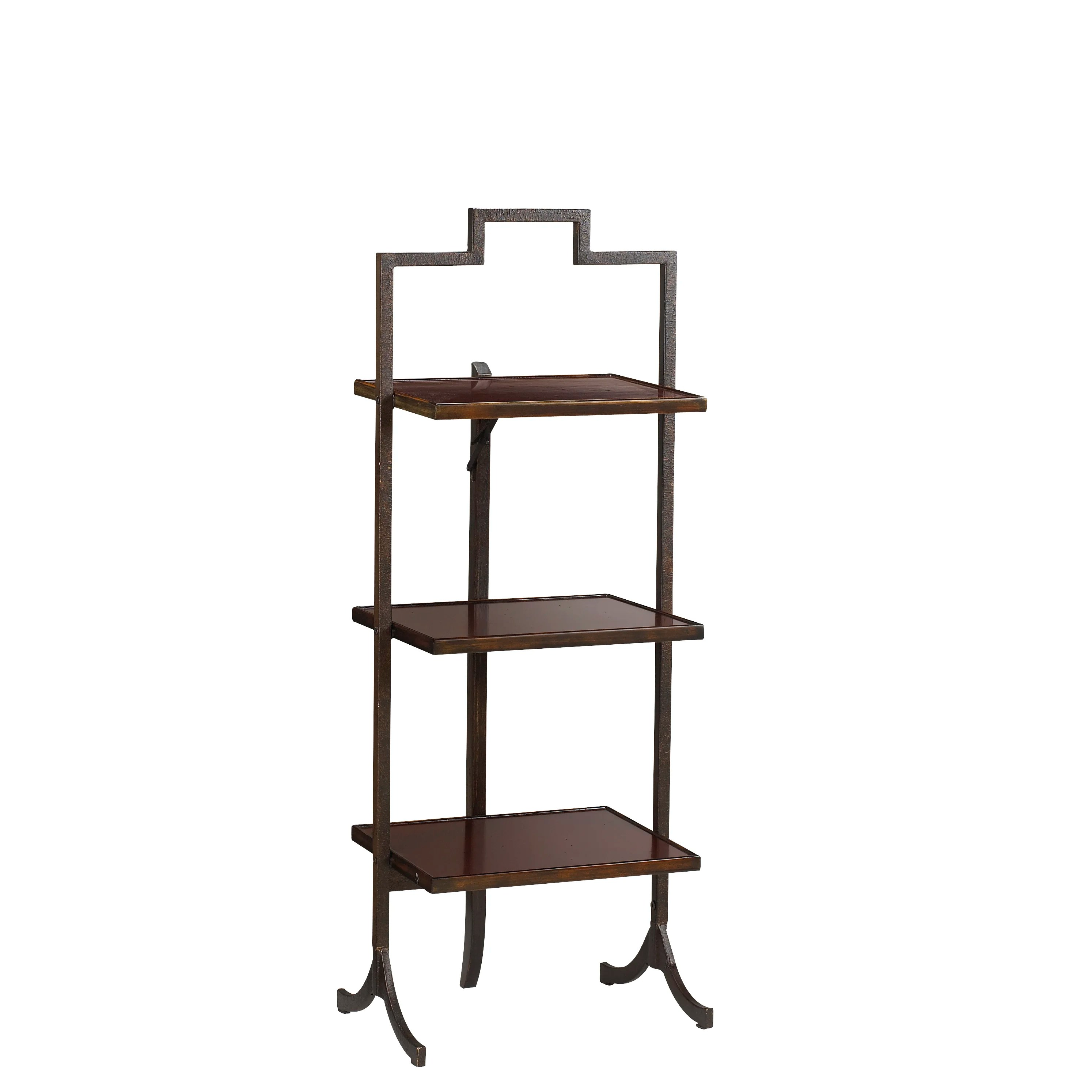 Small Rectangular Side Tables French Heritage Small Rectangular Folding End Table