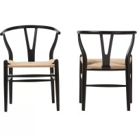 Wholesale Interiors Baxton Studio Wishbone Dining Y Chair ...